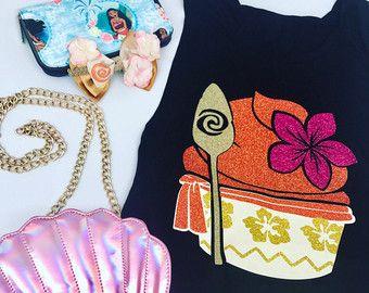 Polynesian Princess Glitter Cupcake Shirt ToteHoodie  Many