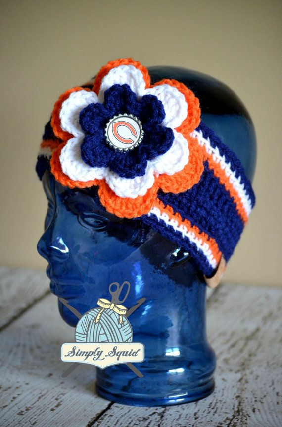READY 2 SHIP  Teen/Adult Chicago Bears Inspired by SimplySquid, $25.00