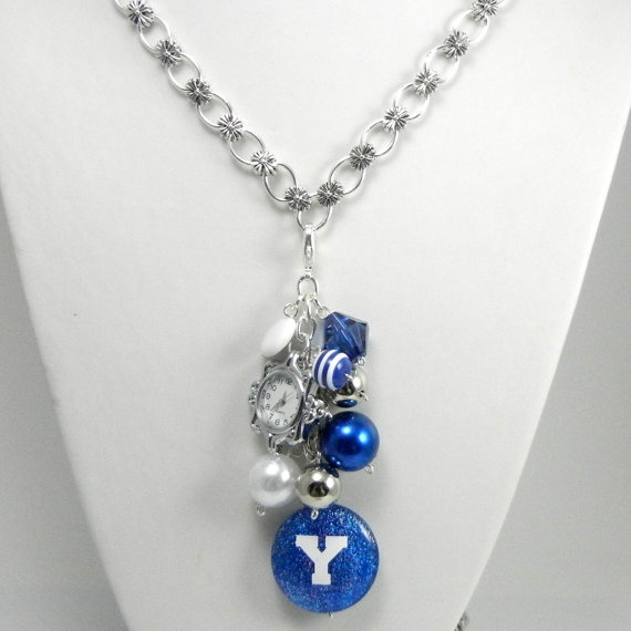 """BYU Necklace to be placed around your date neck at the BYU Football game...  - MormonFavorites.com  """"I cannot believe how many LDS resources I found... It's about time someone thought of this!""""   - MormonFavorites.com"""