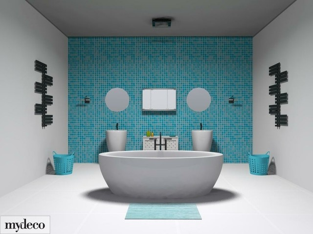 Ordinaire Aqua Bathroom