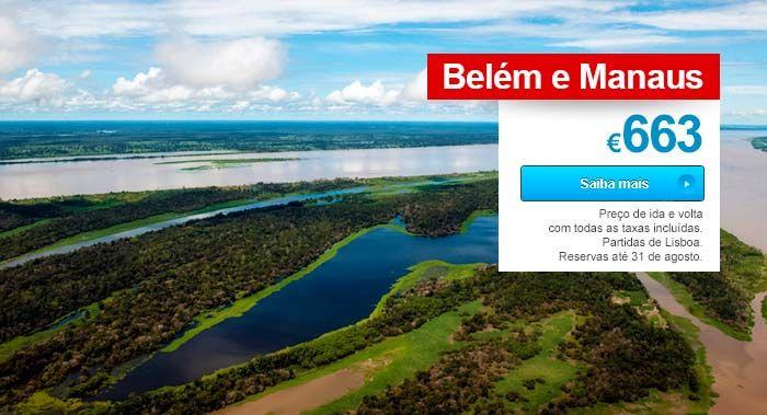 Promoção de voos para Amazónia