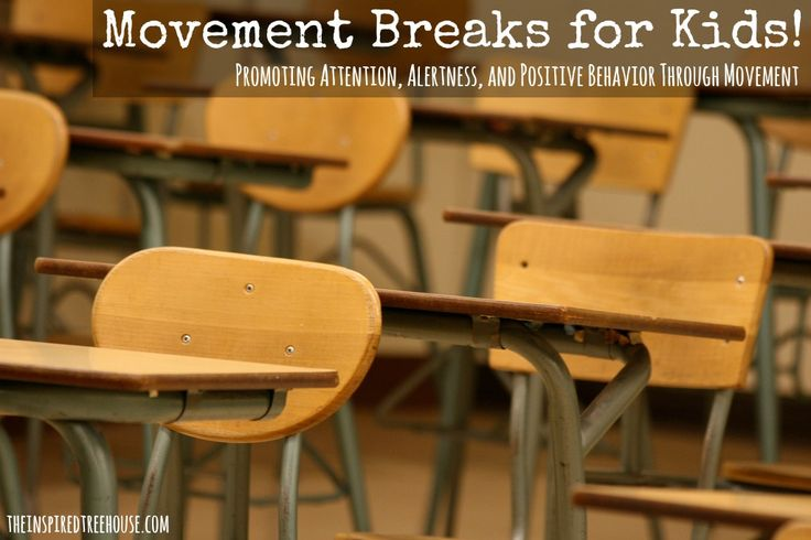 MOVEMENT BREAKS- LOVE #5: Write questions related to the lesson on index cards and hide them under kids' chairs ahead of time so they have to get up and find them.