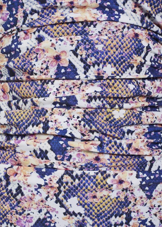 The Matthew Williamson Blossom Snake Print