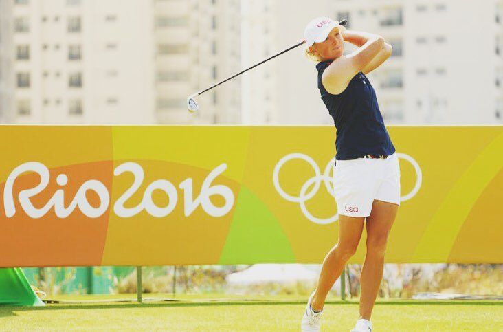 Did you know that Olympic golfer Stacy Lewis wore a back brace from ages 11-18 and then had a spinal fusion to treat her scoliosis? ⛳️💚✨http://www.golf.com/ap-news/lewis-owes-success-winning-raffle-ticket #bentnotbroken #scoliosis #scoliosisawareness #scoliosisfighter #scoliosiswarrior #scoliosisconnects #teamusa