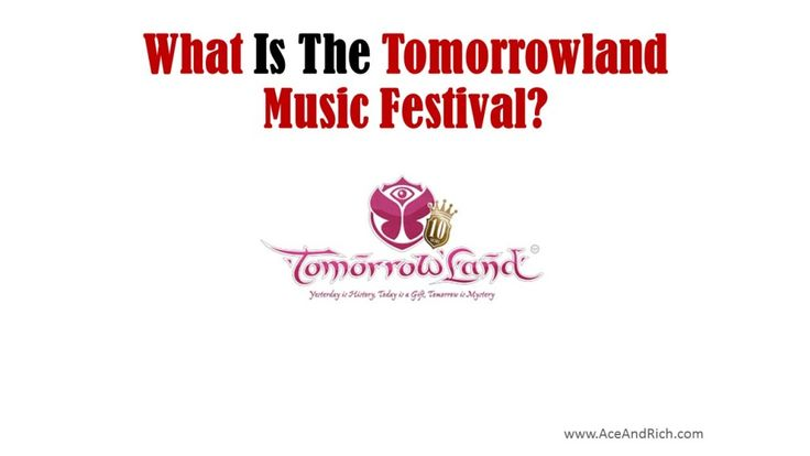 Tomorrowland | What Is The Tomorrowland Music Festival? | The Official Site Of Rich & Anastacia
