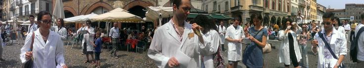 Freeze! In pieno flashmob a Pavia #italy4science