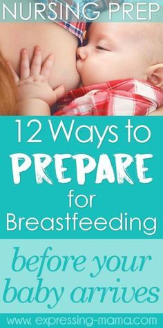 it's great to be prepared for breastfeeding. It's so natural, yet a bit of pre-natal education and planning will help make it much easier and ward of complications.