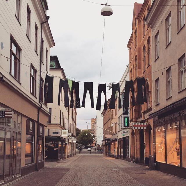 Gothenburg, Sweden - jeans store advertising