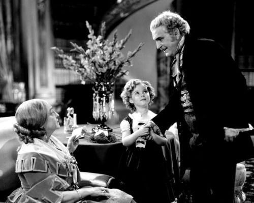 Helen Westley, Shirley Temple and Frank Morgan in Dimples, 1936.