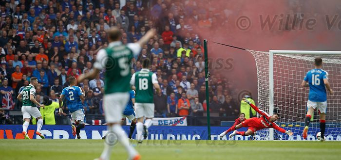 Anthony Stokes scores for Hibs