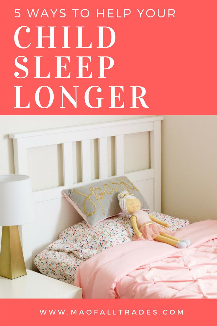 Top 5 ways to help your child sleep longer! the best and fastest way to relieve your stress and keep your kids asleep.