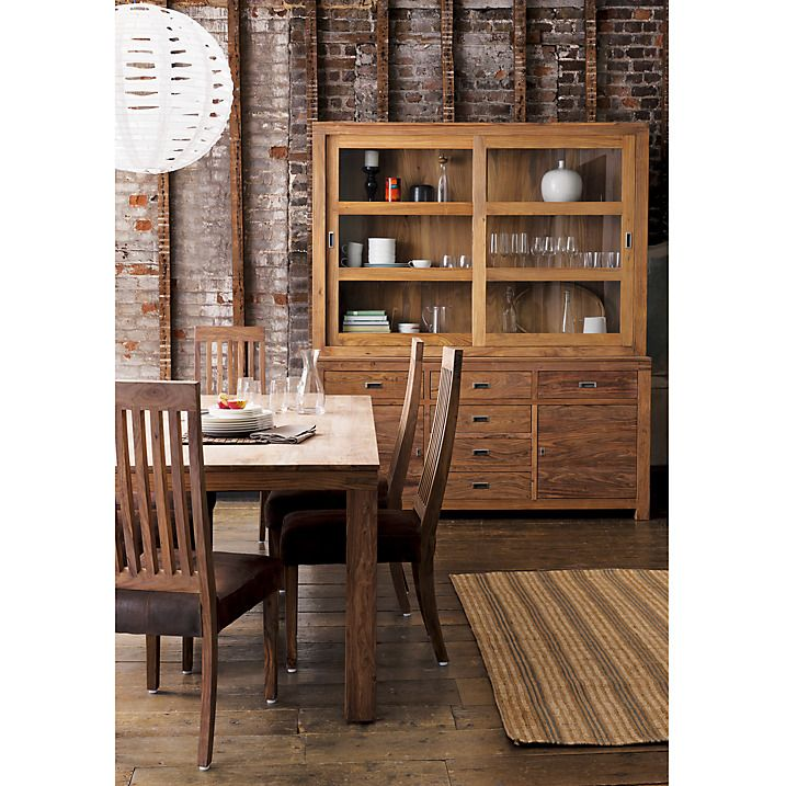 17 best images about ethnic teak sheesham on pinterest for Dining room john lewis