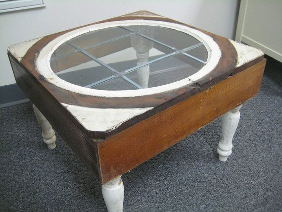 Repurposed Window Coffee Table By Rockingthechair On Etsy Dig It Pinterest