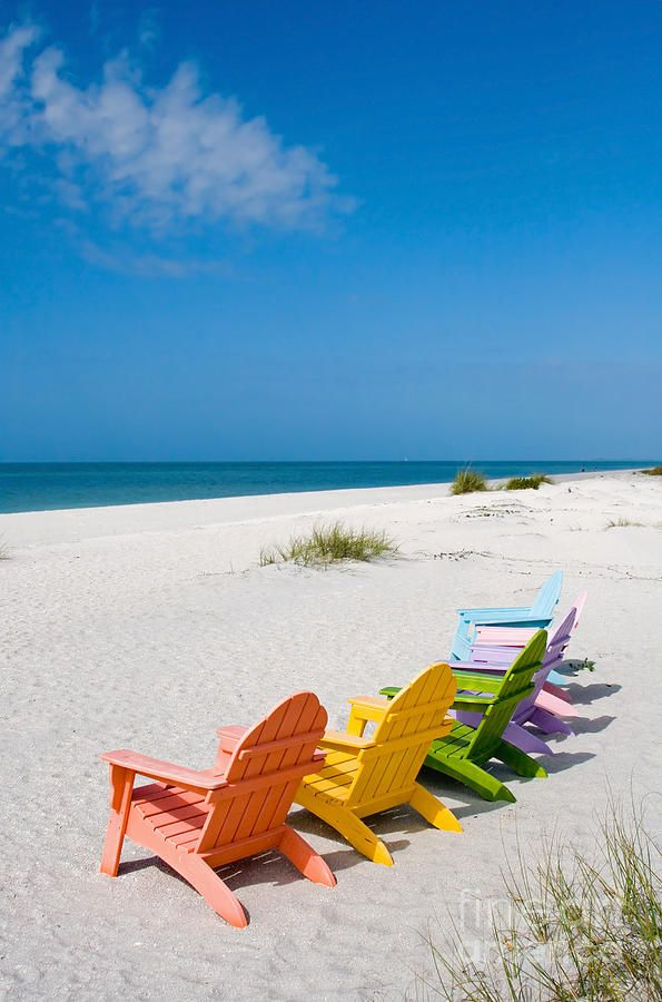 Perfect beach chairs.