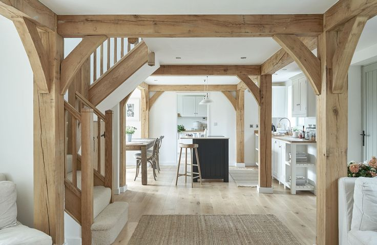 open plan oak frame - Border Oak