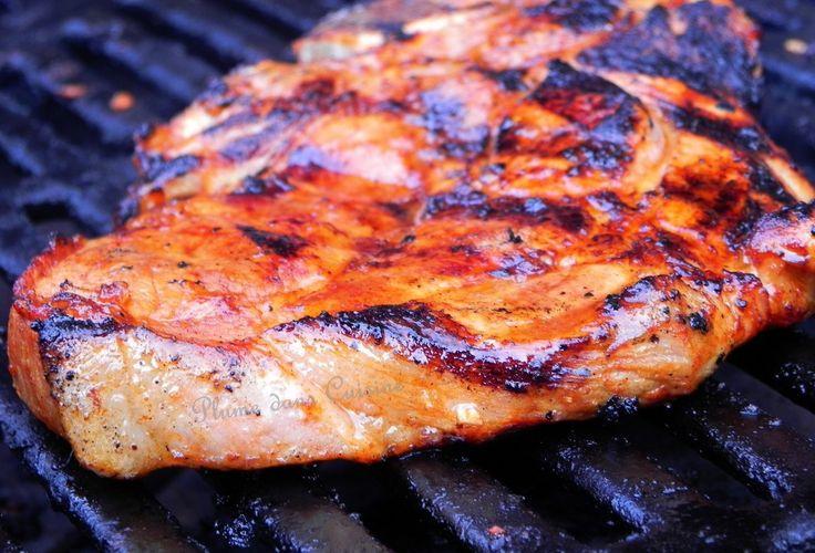 Marinade pour côtelettes de porc au four ou au barbecue