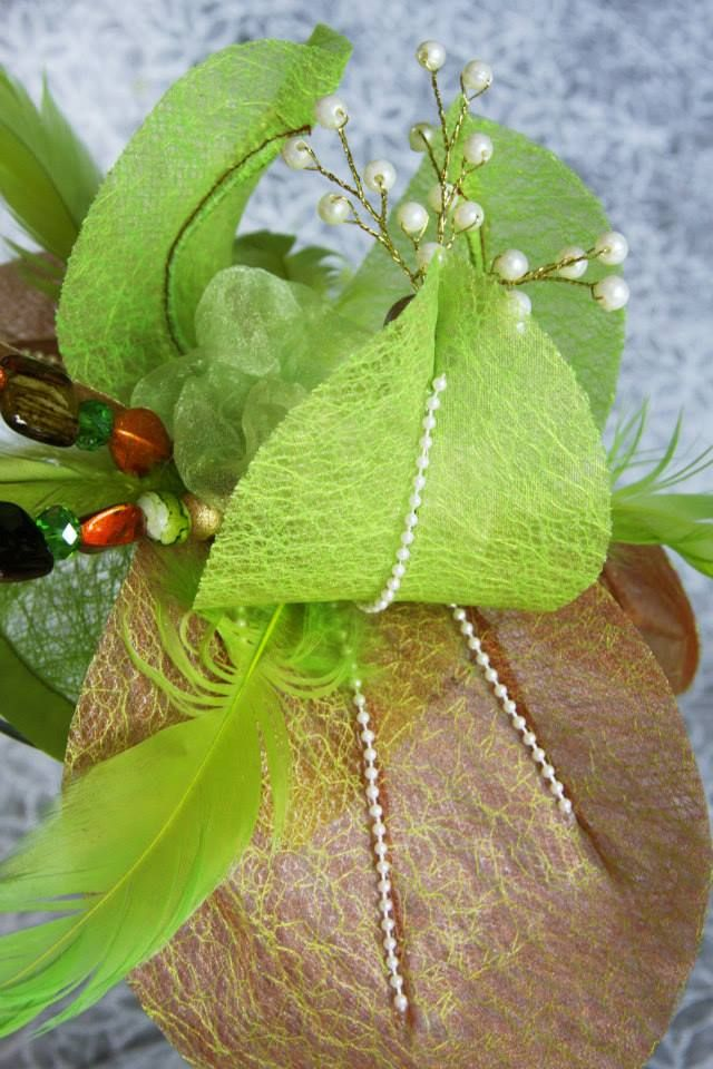 Who doesn't love spring green with this stunning version, made to order