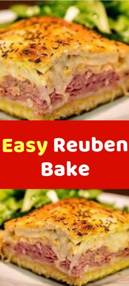 Easy Reuben Bake This Easy Baked Reuben Casserole is just like the classic sandw…