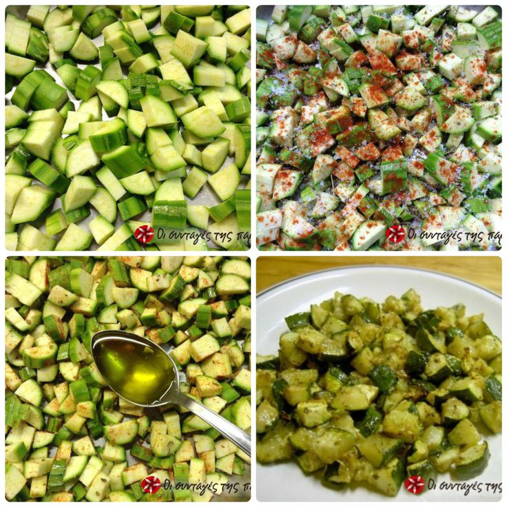 Baked zucchini #cooklikegreeks #zucchinis