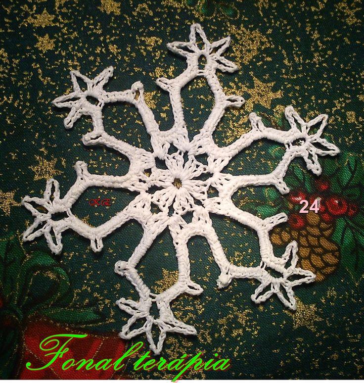 fehér#karácsony#hópihe#horgolt