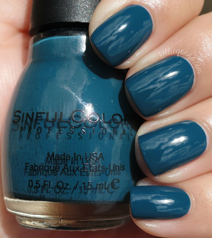 Sinful Colors - Blue Crushin