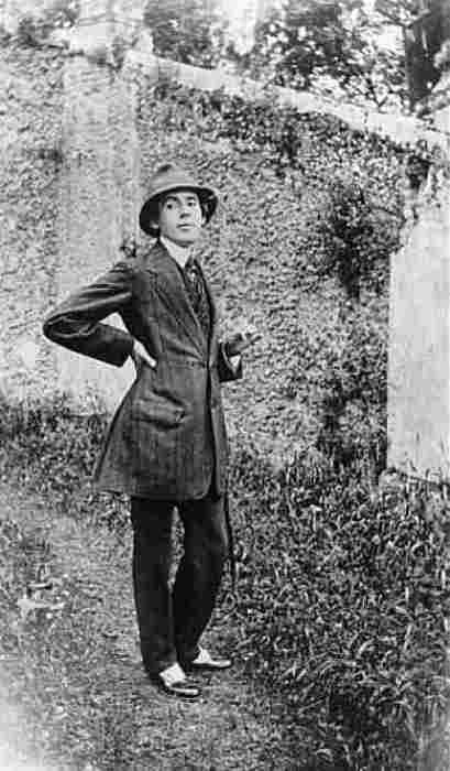 Gerda Wegener's husband, Einar Wegener (later Lili Elbe) was the first person publicly known to have sex reassignment surgery in 1930.