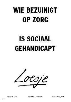 Loesje-poster