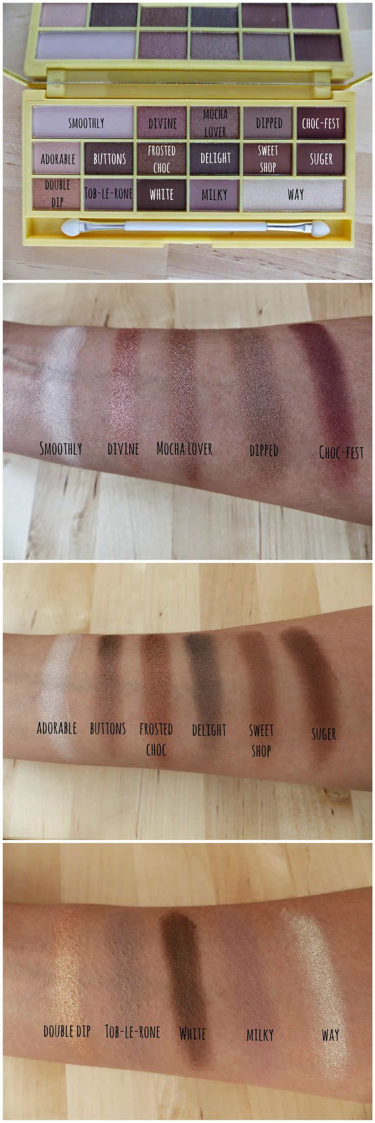 Best 20+ Chocolate palette ideas on Pinterest | Too faced ...