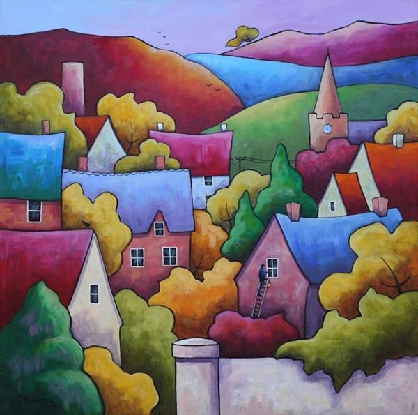 A Clear Day  by Gillian Mowbray