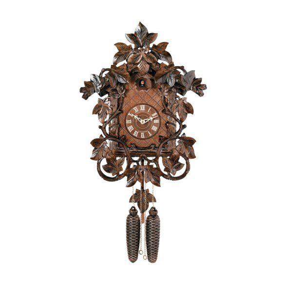 river city clocks vines and leaves cuckoo clock