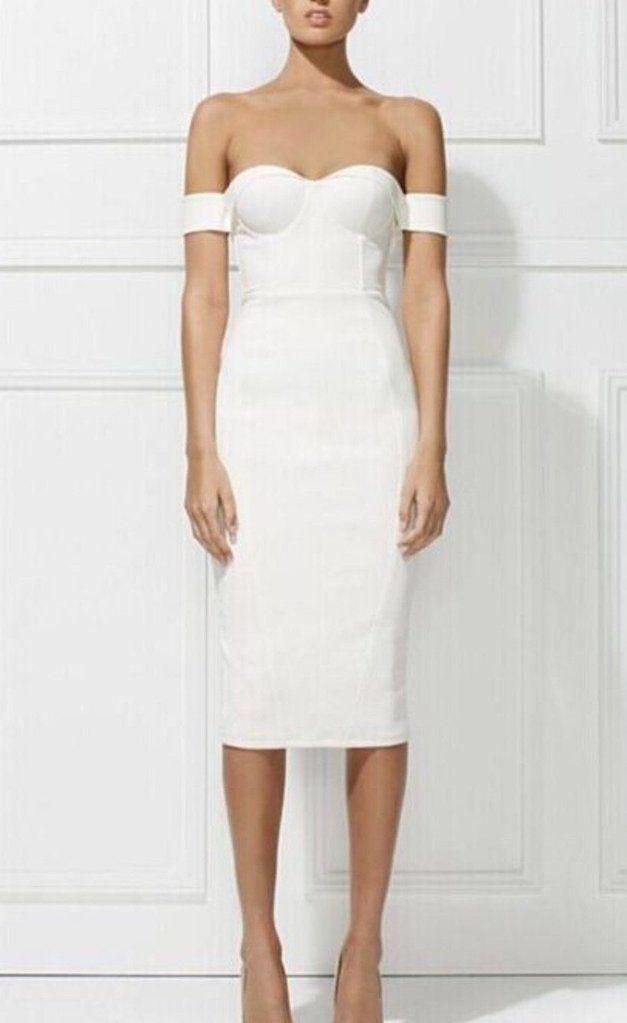 Buy Elsa Bandage 2019Stuff In Dress To White jR3L54A