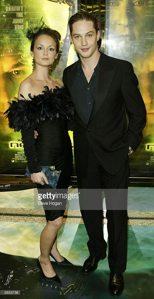 Tom Hardy attends the UK film premiere of 'Star Trek Nemesis' at the Leicester Square Odeon on December 17, 2002 in London.