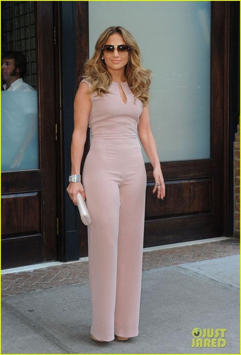Jennifer Lopez in MaxMara in NYC. Styled by #RandM. #MaxMara