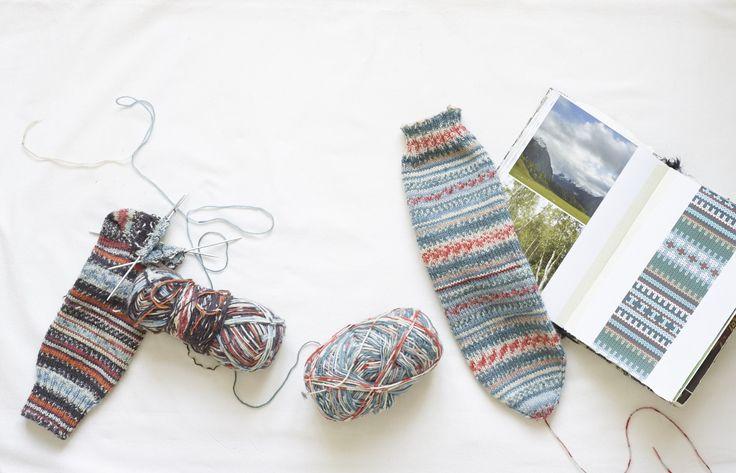 Mejores 58 imágenes de Knitting: Socks Eek! en Pinterest ...