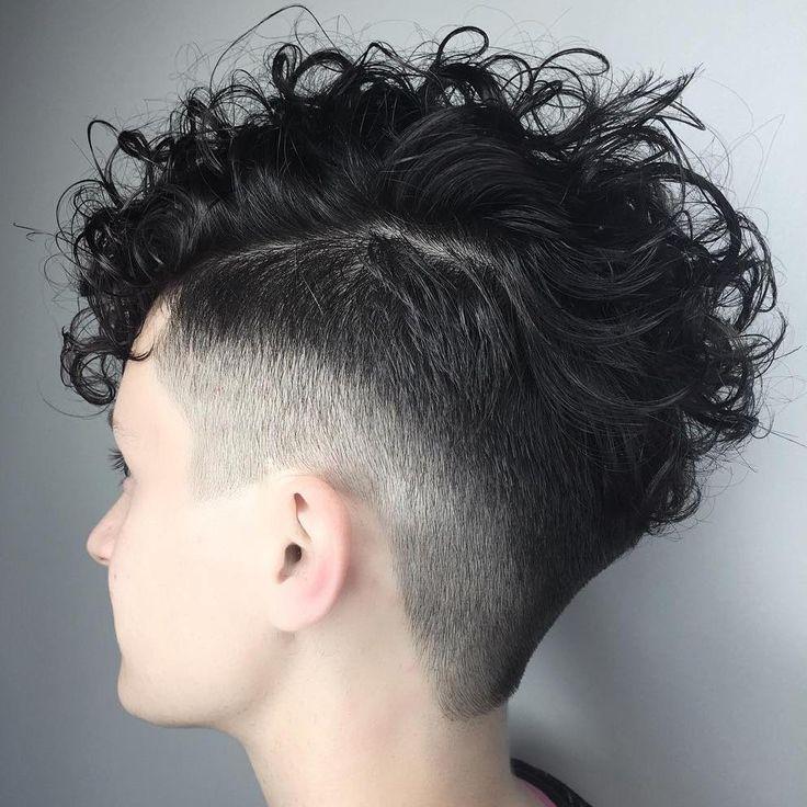 Women's+Undercut+For+Curly+Hair