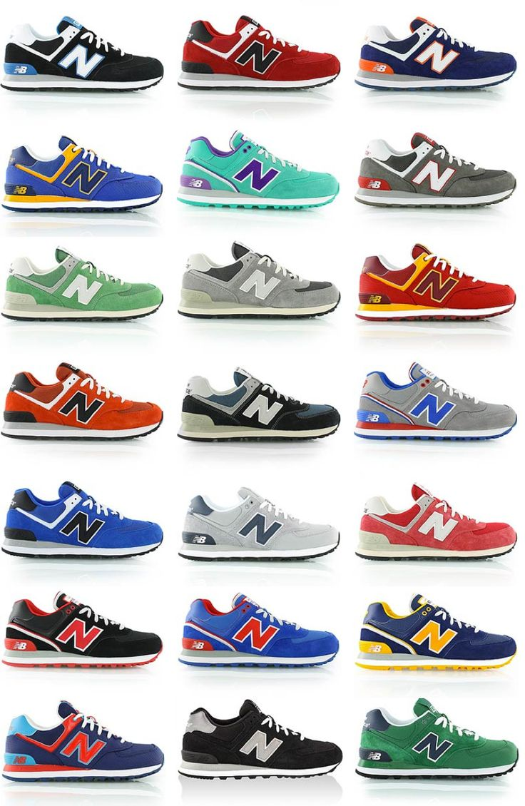 New Balance ML574 - Classic Fashion Sneakers. Men's Spring Summer Fashion. look at all the lovlies