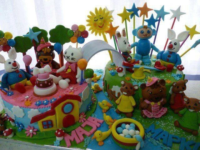 Babyfirst TV birthday cake :)