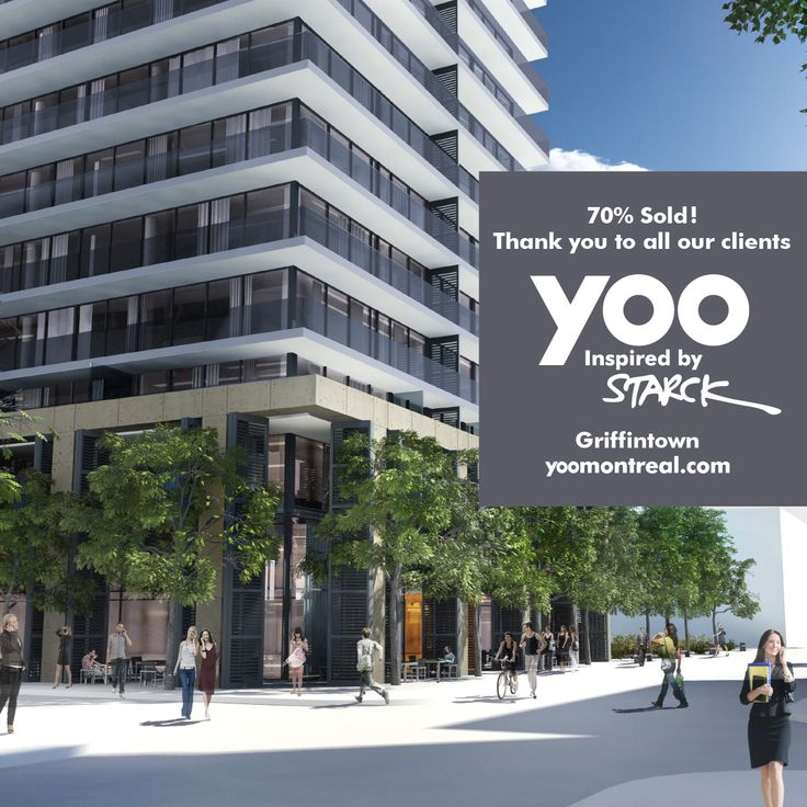#Yoo #Montreal #condo project is under construction and 70 % sold. Thank you to all our clients!