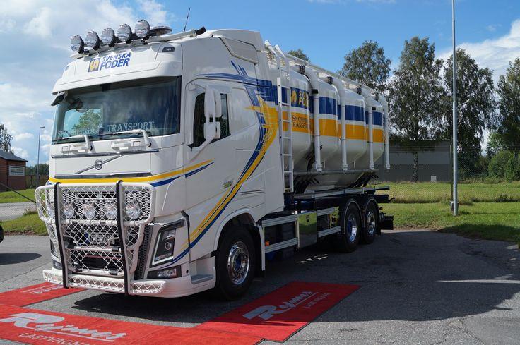 https://flic.kr/p/JCzoCh | Skonberga Transport AB | Leverans 2016-07-08 av en FH16 750, 6*4 med överflyttat byggnation
