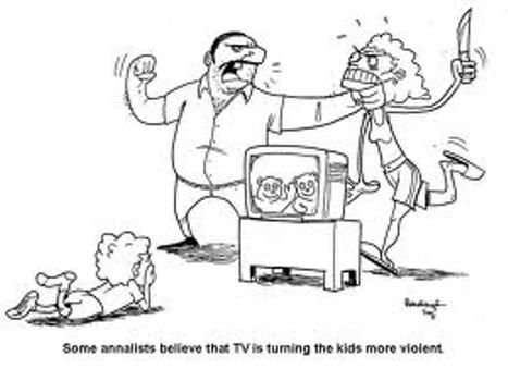 Making fun of the bobo doll experiment in which Albert Bandura believed that children were becoming more violent die to what they saw on tv.