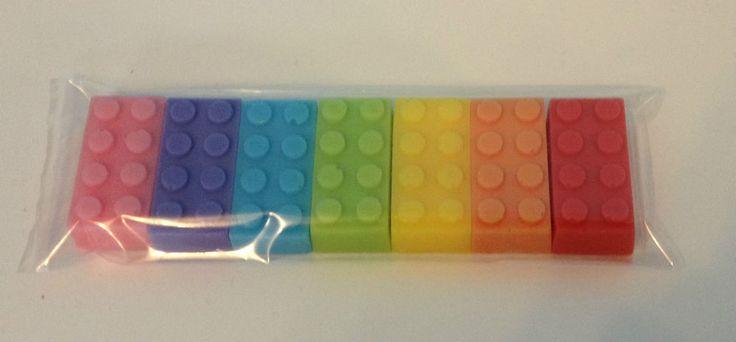7 x LEGO BRICK SOAP GIFT SET CHRISTMAS / BIRTHDAY BOYS & GIRLS