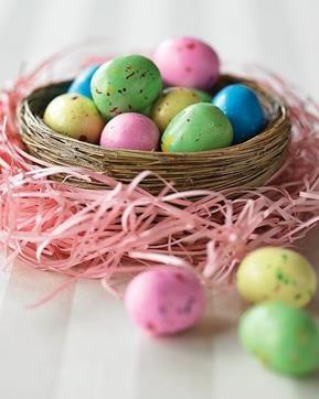 Eggs in a Nest Decor