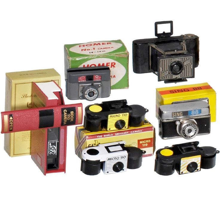 7 Subminiature Cameras