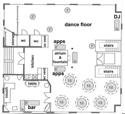 Another Sample Of Layout You Can Do On Our 3rd Floor This Was Designed Using Our Drag N Drop