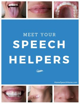 Are You Talking About Speech Helpers in Speech Therapy?