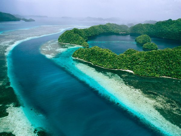 Palau, a paradise for scuba-divers with some the most outstanding diving in the world