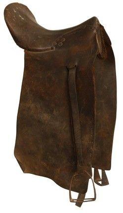 Confederate Wagon Drivers Saddle Civil War Cavalry