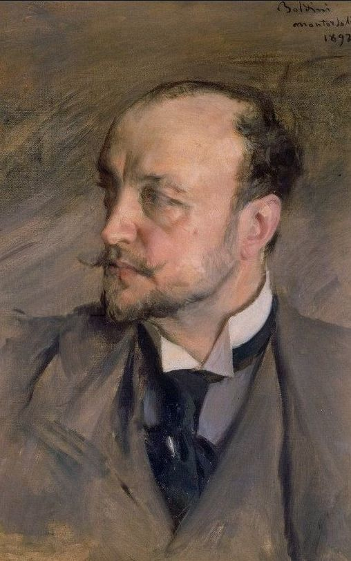 Self portrait (1892) by Giovanni BOLDINI