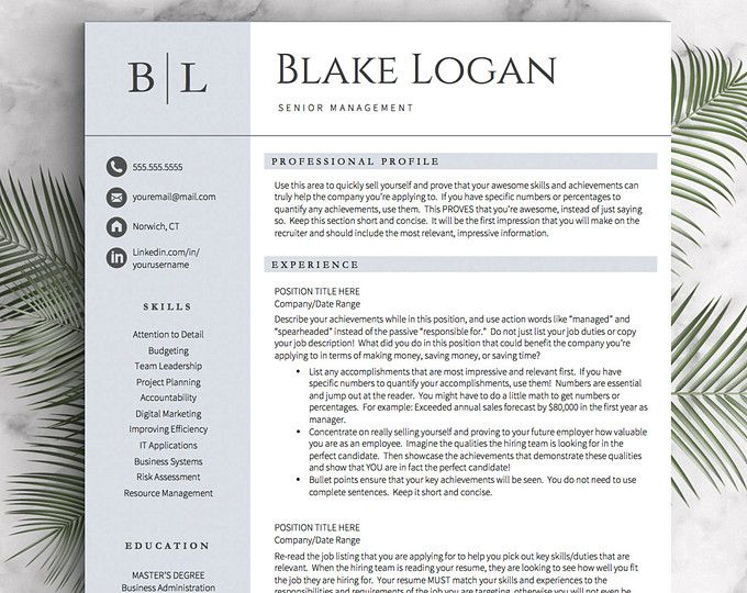 The 25+ best Good resume examples ideas on Pinterest Good resume - leadership skills resume