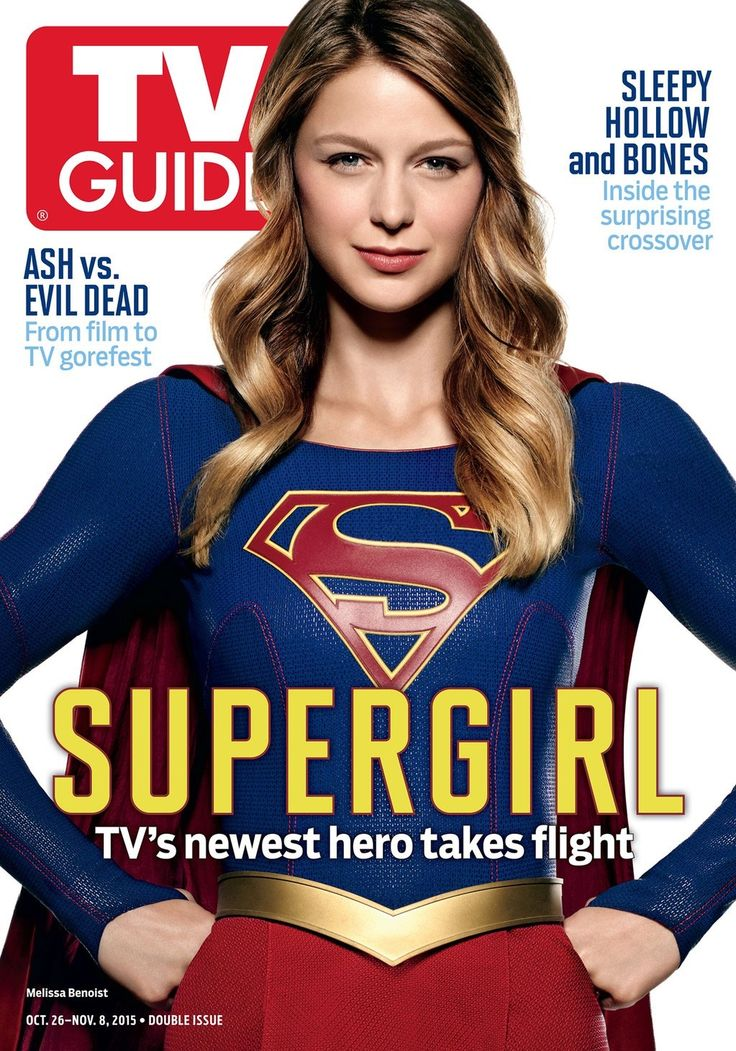 "October 21 2015: ""Supergirl"" Featured on the Cover of TV Guide Magazine"